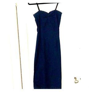 D&G stretch denim dress.